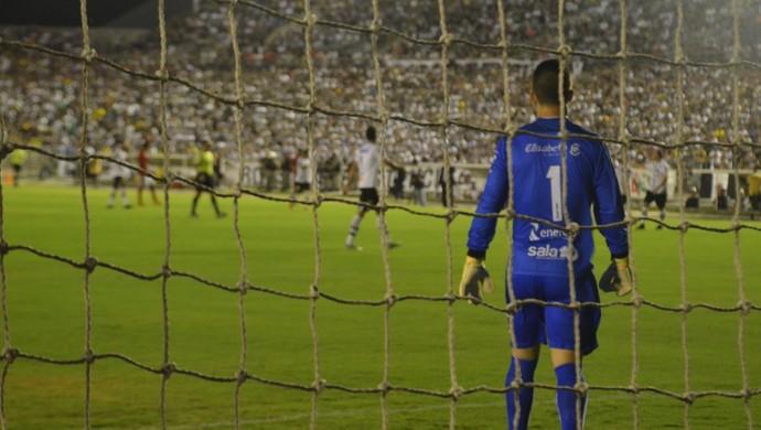 Michel Alves, Botafogo-PB (Foto: Cadu Vieira / GloboEsporte.com)