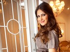 Grávida de gêmeas, Natália Guimarães posa para ensaio especial de Dia das Mães