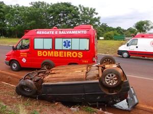 Acidente Vitória das Missões RS (Foto: Jairo Ferreira/Rádio Cidade SA)