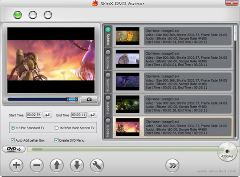 How to use winx dvd author