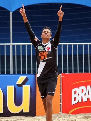 Vasco e Milan  Mundialito de Clubes futebol de areia (Foto: Gaspar Nóbrega/Inovafoto)