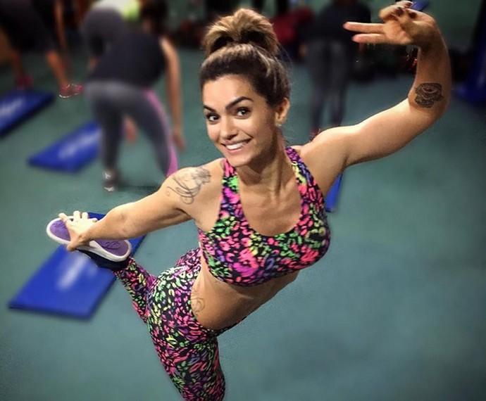 Kelly Key elege Bela Falconi e como suas inspirações fitness (Foto: Arquivo Pessoal)