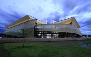 Inauguração Arena Pantanal (Foto: Edson Rodrigues/Secopa-MT)