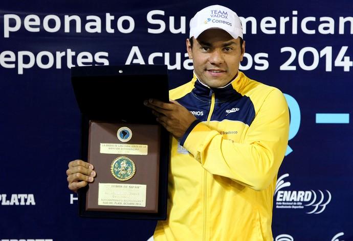 Felipe França natação seleção brasil (Foto: Satiro Sodré / CBDA)