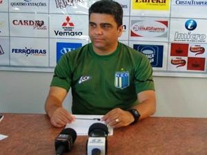 Marcelo Cabo, técnico do Nacional-MG (Foto: Fair Play Assessoria)