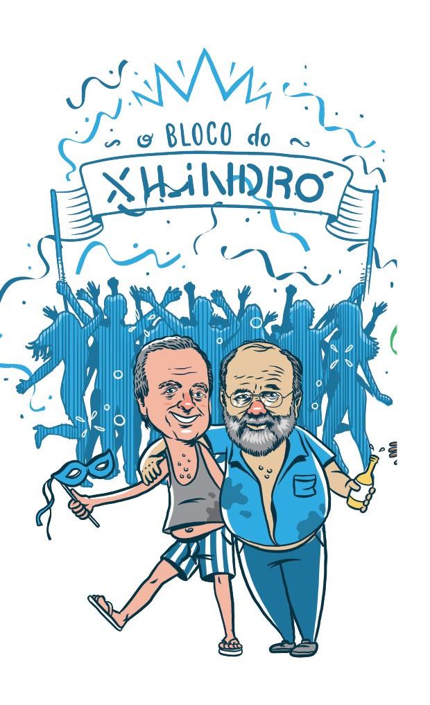 Bloco do Xilindró (Foto: Ilustração: Estúdio Rufus)