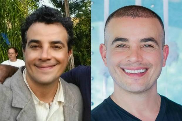 Anderson Di Rizzi: antes e depois (Foto: Reprodução/Instagram)