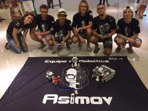 Equipe Asimov SEK (Foto: Divulgação/LARC/CBR 2016)