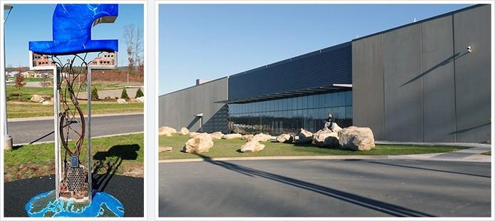 Data Center do Facebook em Forest City, nos Estados Unidos (Foto: Divulgação/Facebook)