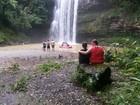 Homem desaparece em cachoeira em Pouso Redondo, no Vale do Itajaí