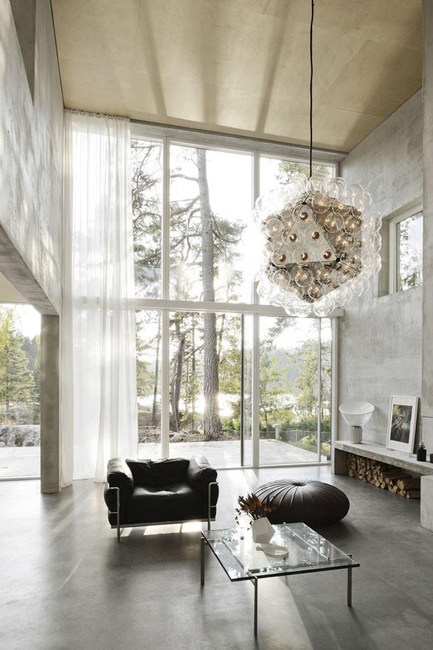 Uma casa na floresta sueca (Foto: Mikael Olsson / divulgação)