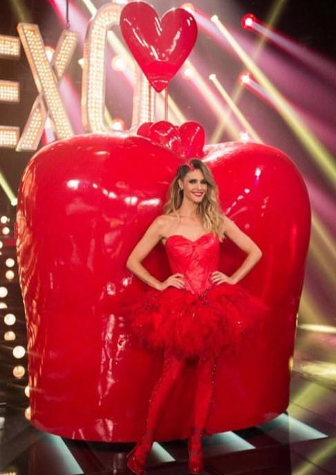 """Fernanda Lima: um coração em """"Amor & Sexo"""" (Foto: Reprodução/Instagram/@fernandalimaoficial)"""