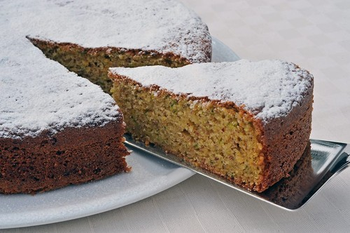 Bolo de abobrinha italiana  ( Torta dolce di zucchine