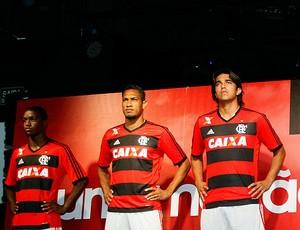 camisa Flamengo lançamento (Foto: Marcelo de Jesus)