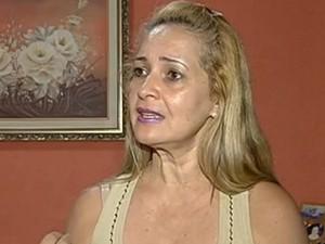 Janete já sofreu duas vezes com a doença: 'Pensei que ia morrer' (Foto: Reprodução/TV Anhanguera)