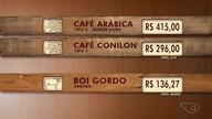 Confira a cotação do café e o preço do boi gordo no ES