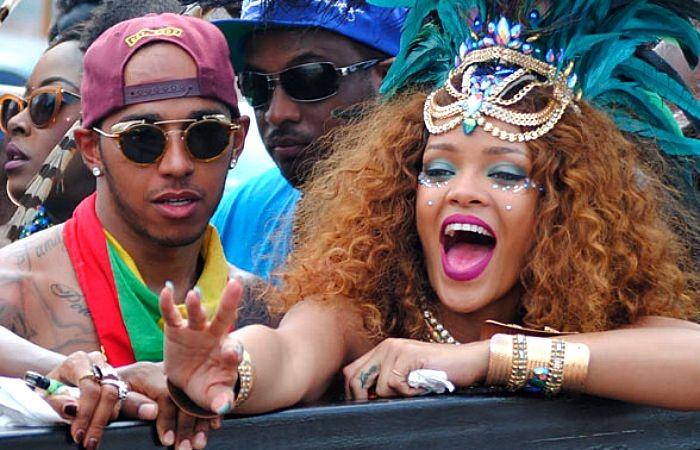 Lewis Hamilton Rihanna