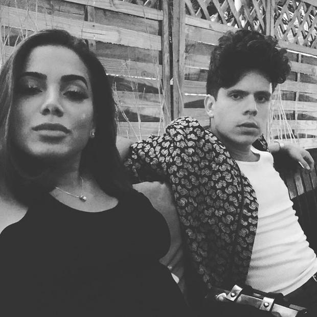 Anitta e Rudy Mancuso (Foto: Reprodução / Instagram)