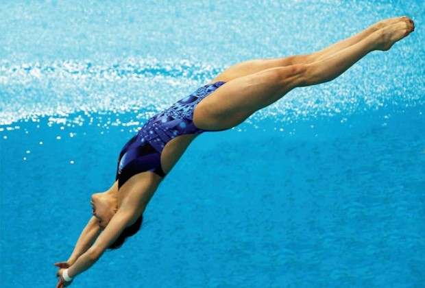 Ela foi campeã nacional mexicana na plataforma de 10 metros por nove anos consecutivos e ganhou medalha de bronze em Pequim, em 2008 (Foto: Getty Images)