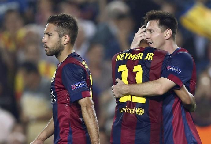 Neymar evita oba oba com dupla neymessi e messi foge de for K oba mobiliario elche