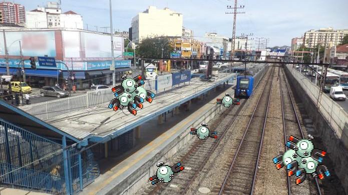 pokemon-go-locais-tipos-metal-estacao-trem-trilhos Onde encontrar cada tipo de pokémon em Pokémon Go