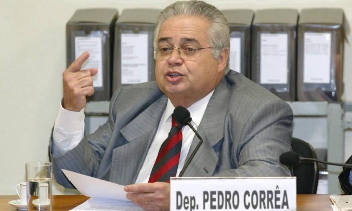 Ex-deputado federal Pedro Corrêa