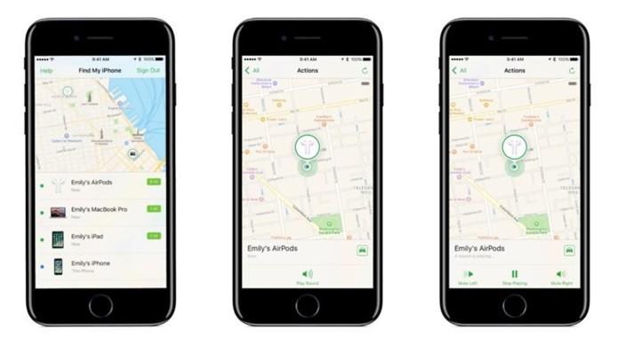 Função aparecerá na mesma tela do FInd My iPhone (Reprodução/WSJ)