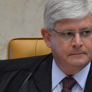 Rodrigo Janot durante abertura do ano Judiciário no Supremo Tribunal Federal (STF) (Foto: Agência Brasil)
