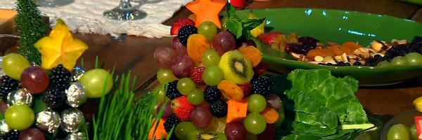 Ceia de natal nutritiva neste sábado no Vida (Foto: Reprodução/ RBS TV)
