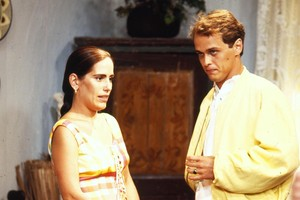 Ruth (Glória Pires) e Marcos (Guilherme Fontes)