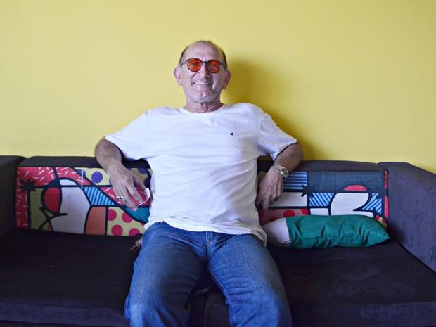 José Patriota, conhecida como Zé, é quatro vezes pai. (Foto: Dani Fechine/G1)