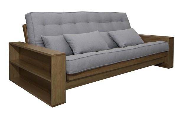 Sof cama zeloni tem estrutura produzida em madeira maci a - Sofa cama original ...