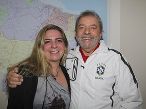 A ex-prefeita de Fortaleza, Luizianne Lins e o ex-presidente Lula (Foto: Divulgação)