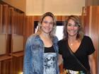 Fernanda Gentil leva a mãe para show de Roberto Carlos no Rio