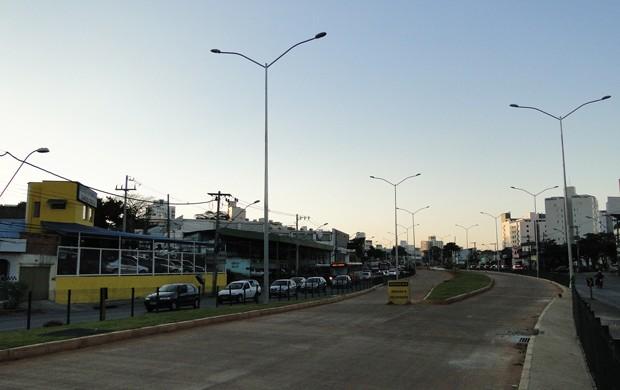 BRT Avenida Cristiano Machado (Foto: Pedro Cunha / G1MG)
