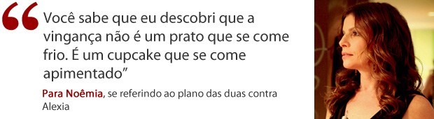 Frases de Verônica foto direita (Foto: Avenida Brasil / TV Globo)