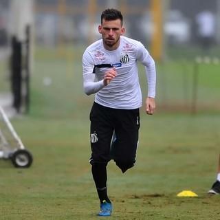 Lucas Lima, Santos (Foto: Ivan Storti/Santos FC)