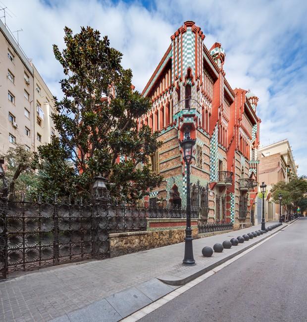 museu não é inaugurado, confira algumas fotos da Casa Vicens: (Foto: Reprodução/Casa Vicens)
