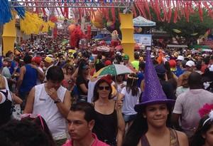 Blocos e troças ganham ruas no domingo (Marjones Pinheiro / TV Globo)