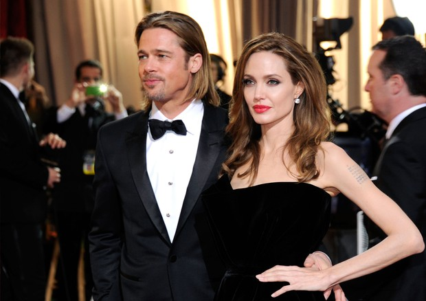 Angelina e brad (Foto: Getty Images)