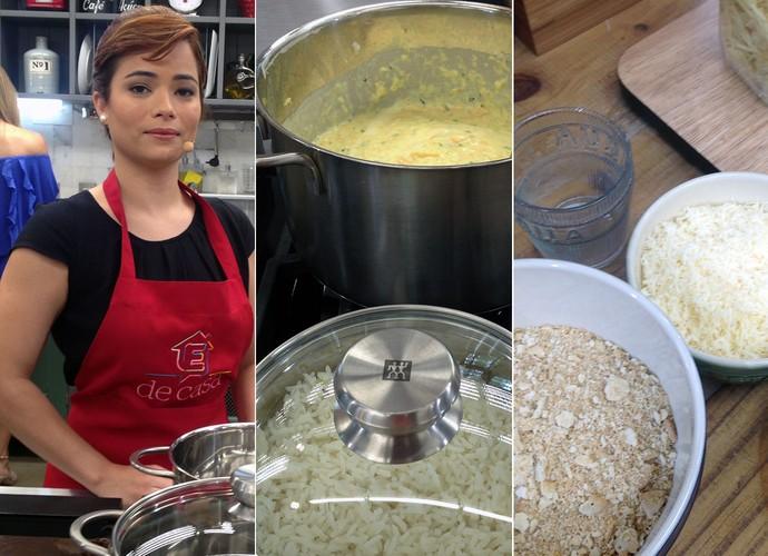 Chef Dayana Abrahim dá receita de prato leve e saboroso (Foto: Gabriela Bispo/ Gshow)