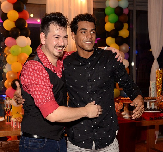 Roger Hideo e Marcello Melo Jr. (Foto: Leonardo Marinho/ Brazil News)