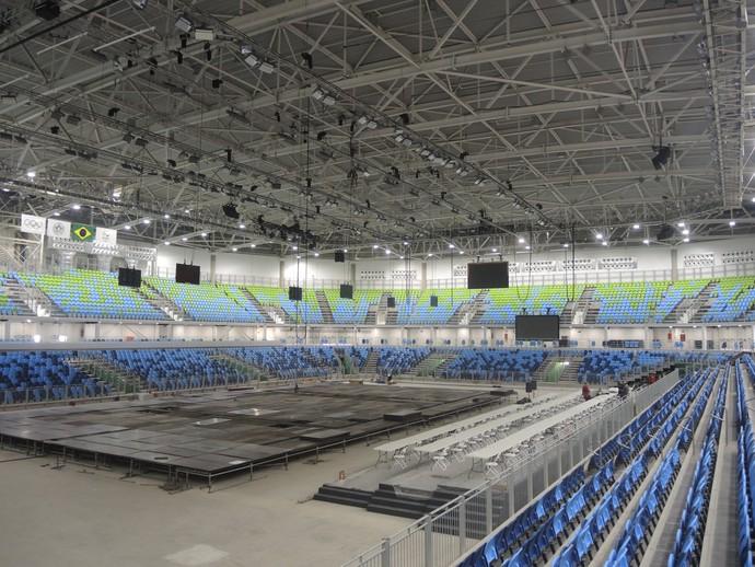 Arena Carioca 2 (Foto: GloboEsporte.com)