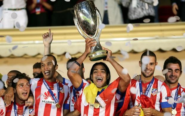 Falcao García Atlético de Madri (Foto: AP)