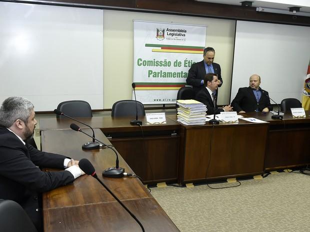 Deputado Mário Jardel (PSD) não compareceu à Assembleia Legislativa  (Foto:  Vinicius Reis/Agência ALRS/Divulgação)