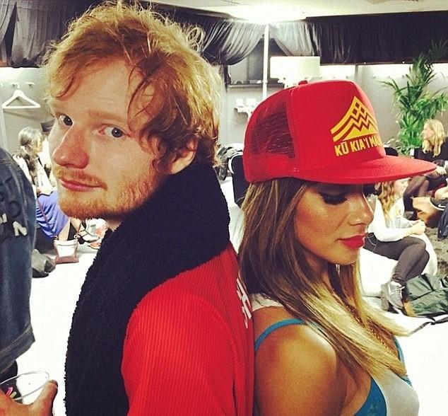Ed Sheeran e Cherry esto juntos h um ano (Foto: Reproduo/Instagram)