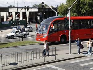 Atualmente, passagem de ônibus de Curitiba é de R$ 2,70 (Foto:  Luiz Costa/Divulgação/SMCS)