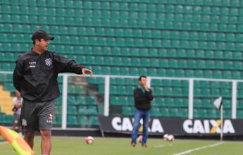Marquinhos Santos evita falar de revés em teste, mas alerta para bolas aéreas