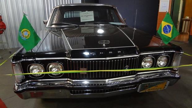 Ford Landau é um dos destaques do museu (Foto: Divulgação)