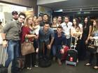 Caravana de amigos viaja de Cuiabá para velório de Cristiano Araújo